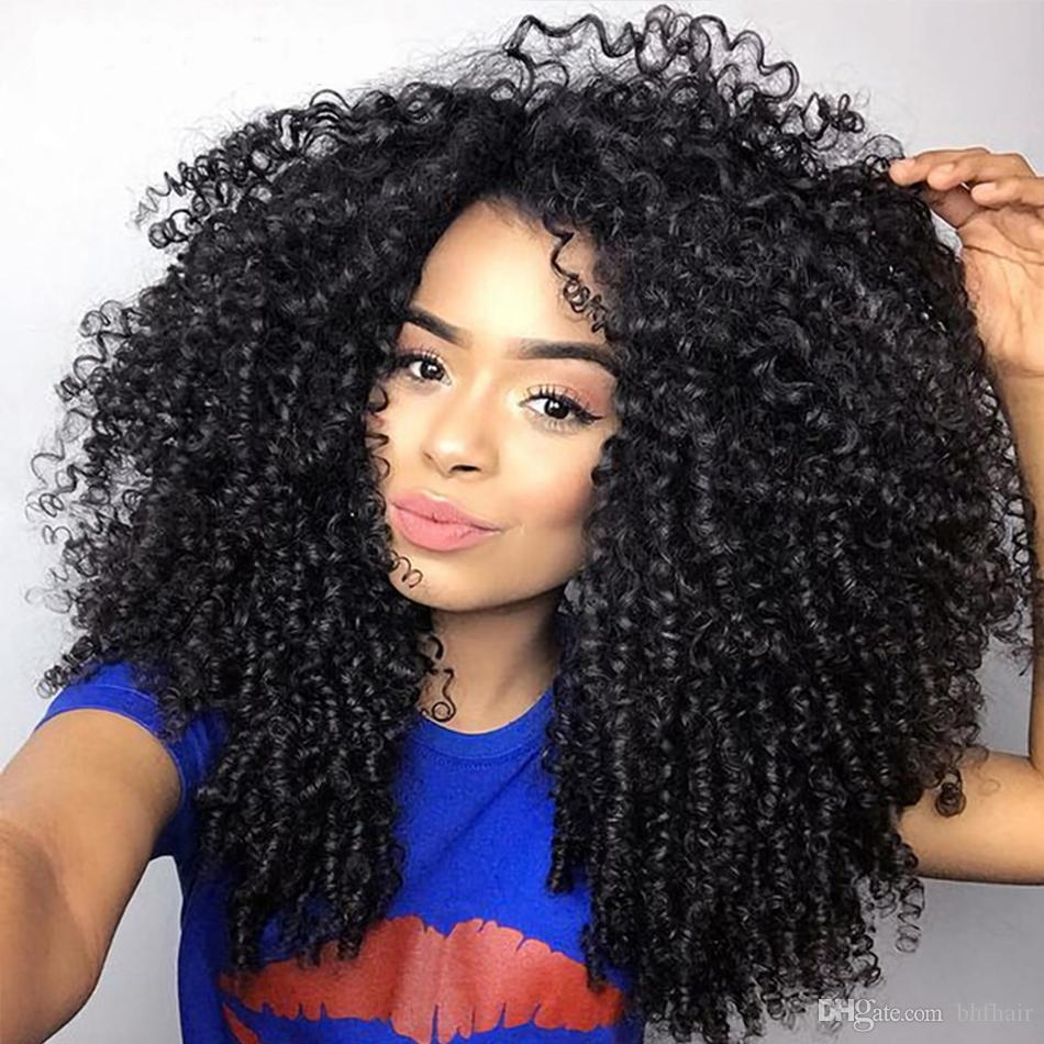 8a Unprocessed Mongolian Kinky Curly Hair Weave Bundles 4 Bundles Mongolian Loose Curly Human Hair Natural Black Hair Big Curly Hair Weave Curly Hair