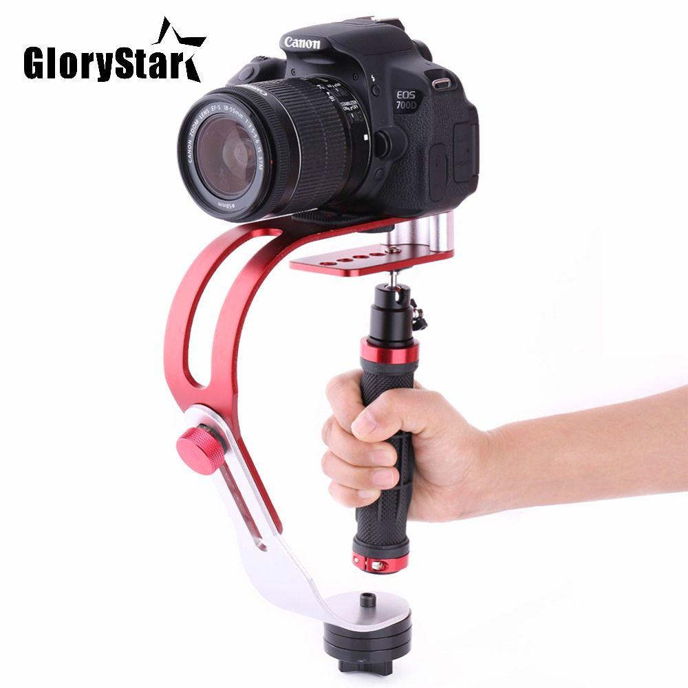 Handheld Stabilizer Gimbal for Gopro DSLR SLR Digital Camera Sport DV Aluminum Alloy estabilizador de camera DSLR Universal Red