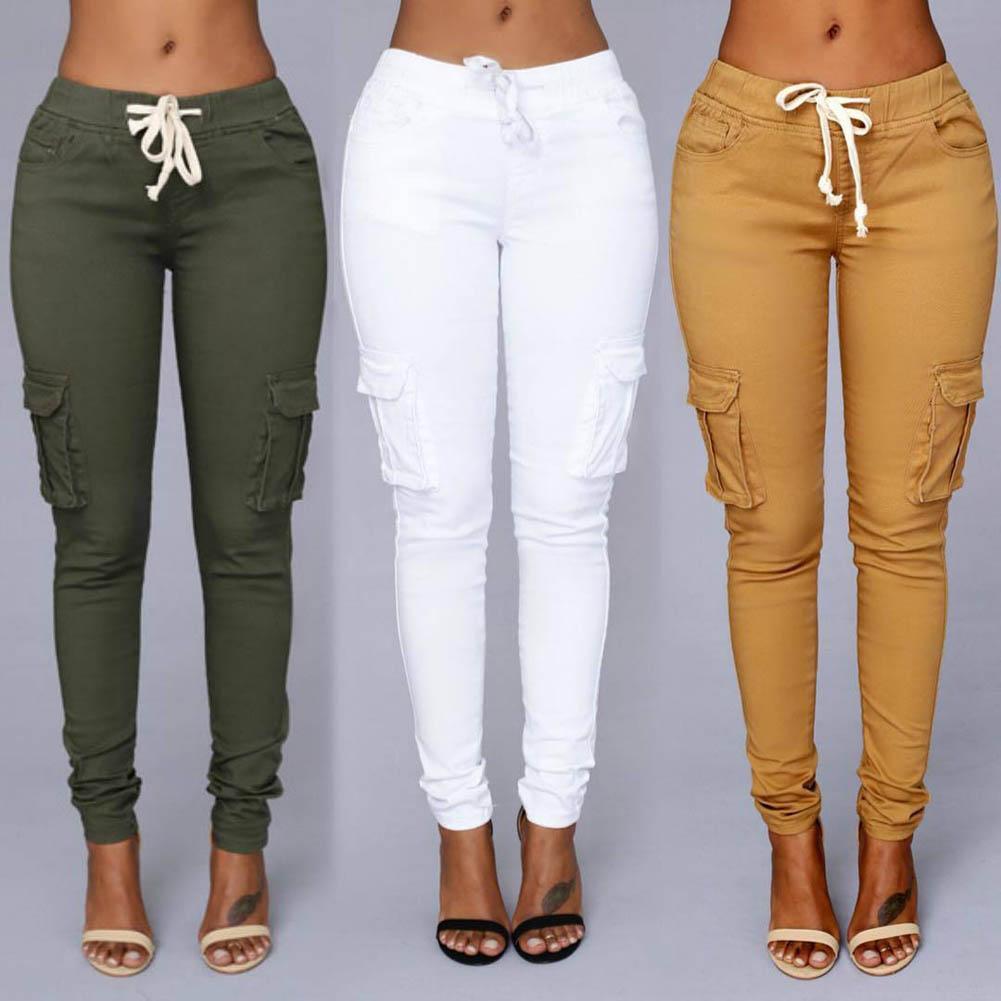 Skinny Candy Colours Эластичные сексуальные джинсы-карандаш для женщин Леггинсы Винтажные джинсы с высокой талией Женские тонкие брюки-деним