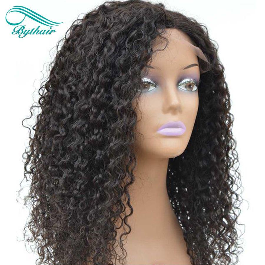 Bythair 360 Lace Perücke Pre Gezupft Brasilianische Haar Volle Spitze Perücke Wasserwelle Spitzefrontmenschenhaarperücken Mit Babyhaare