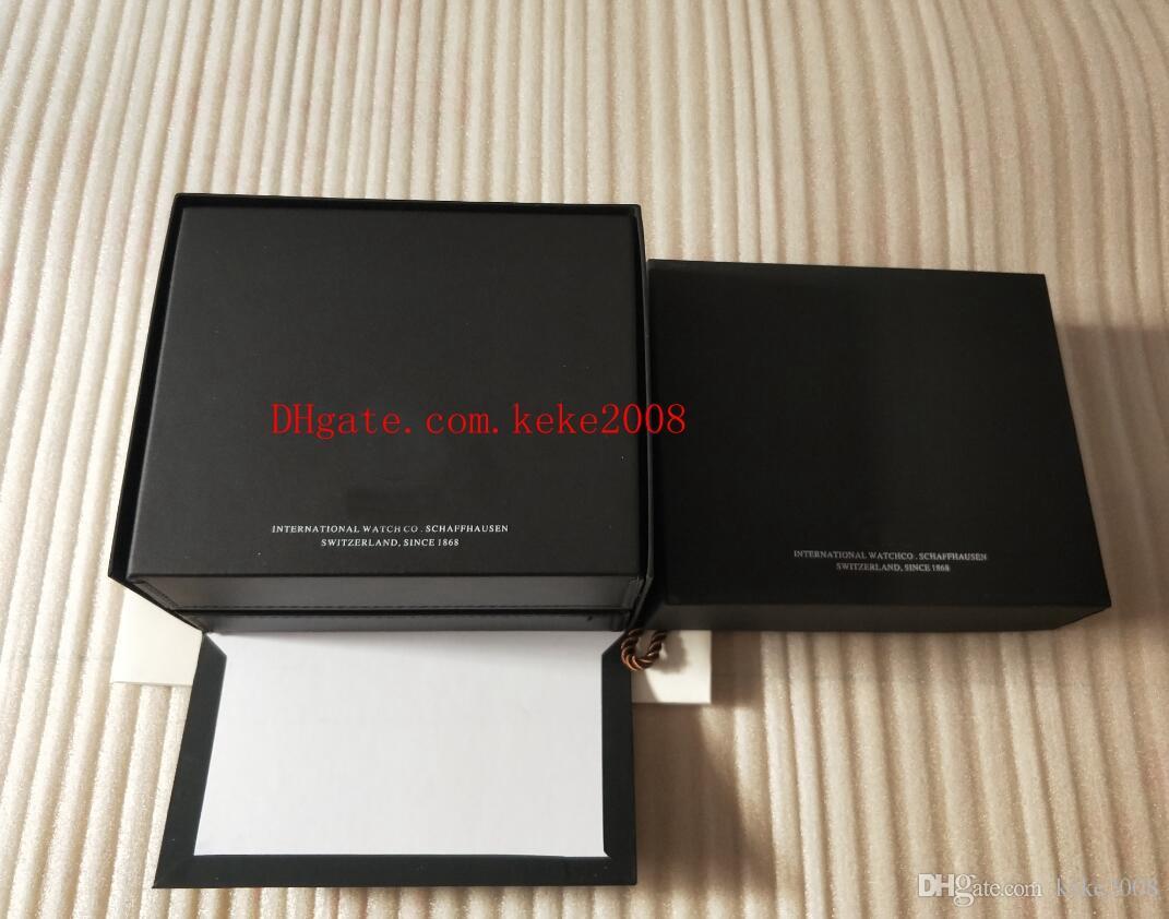 IW388005 Cronógrafo para hombre Reloj de caja original de lujo de alta calidad IW388005 Relojes de caja de cuero para mujer