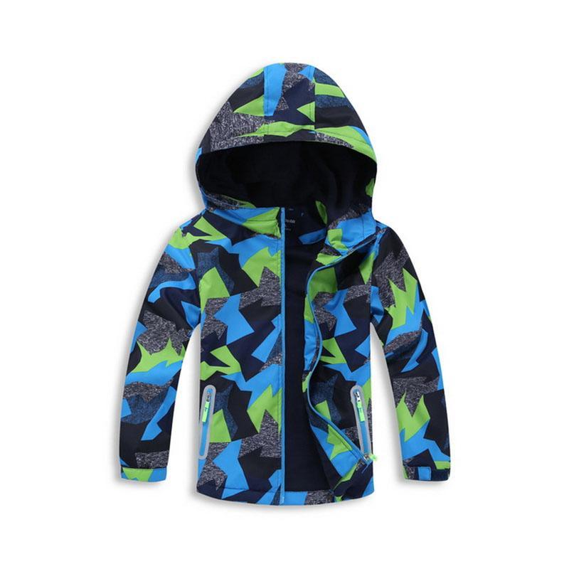 Casaco Com Capuz de lã Para Crianças 3-12Years Crianças Blusão Moda Trench Coat Casaco Chaqueta Nino Meninos Para A Primavera Outono