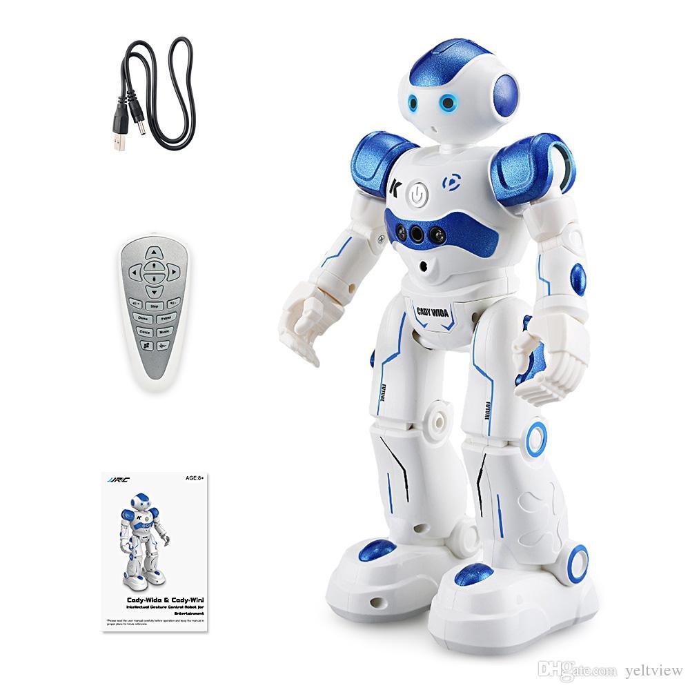 Оригинальный JJR / C JJRC R2 робот игрушки комплект ИК жест управления Кэди вида интеллектуальный фигурку Программирование танцы роботы для детей Малыш подарок