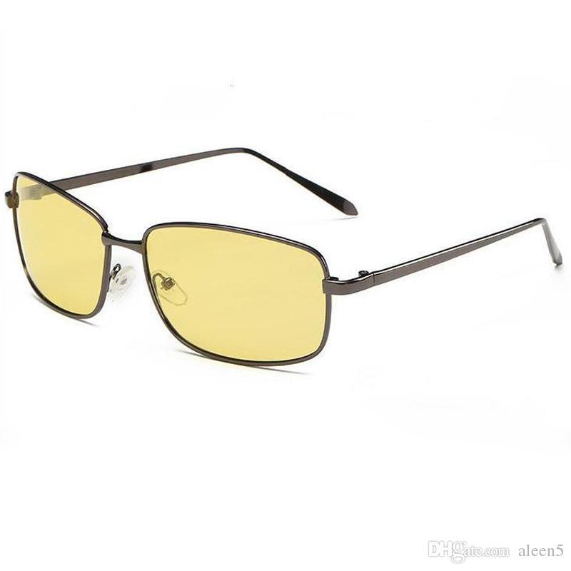 More colors 2018 polarized sunglasses outdoor brand Sunglasses for men metal glass HD vintage sun glasses Night Vision UV400 Retro drive