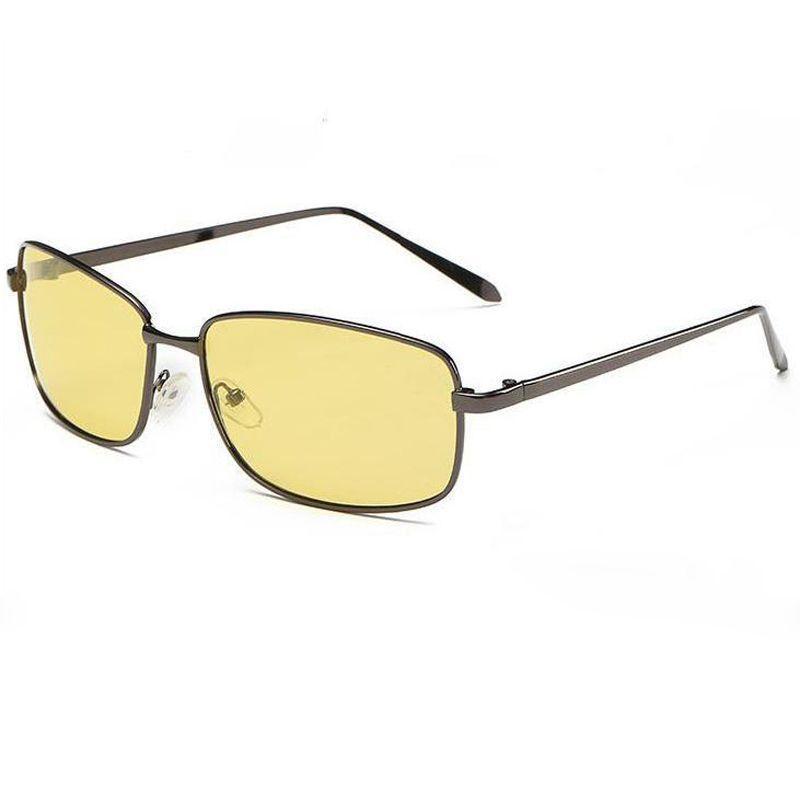 Mais HD noite Polarizado Sol Marca Ao Ar Livre Vidros Retro Homens Vintage Vintage Vidro Óculos de Sol Cores 2018 Vision UV400 para Driv Chpu