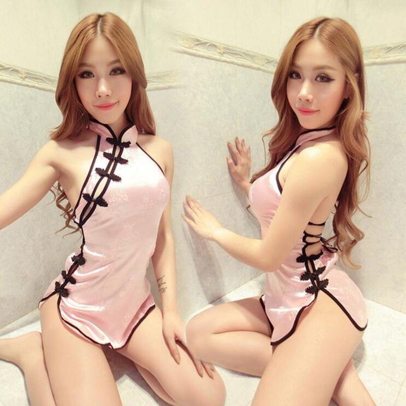 مثير اباحي المنتجات زي شيونغسام الصينية الغريبة لعبة ازياء احتكار الجنس لعبة تأثيري مثير الملابس الداخلية ملابس غريبة