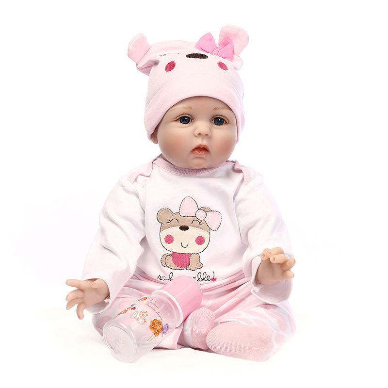 "22/"" Reborn Baby Girl Dolls Clothing Set Newborn Likelife Not Inculding Doll Gift"
