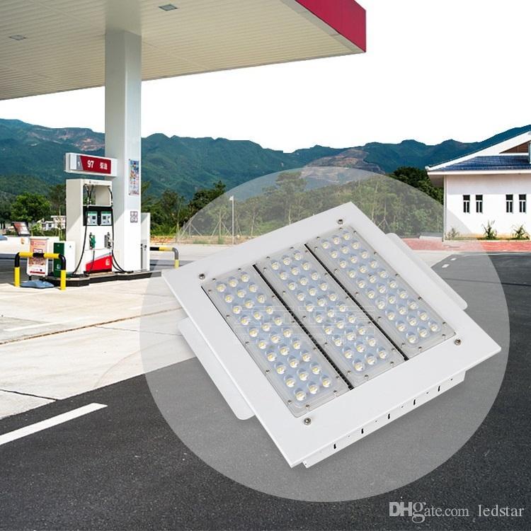 100W 120W 150W 200W l'auvent extérieur imperméable élevé du lumen LED de la station-service IP65 allume CA 90-277V