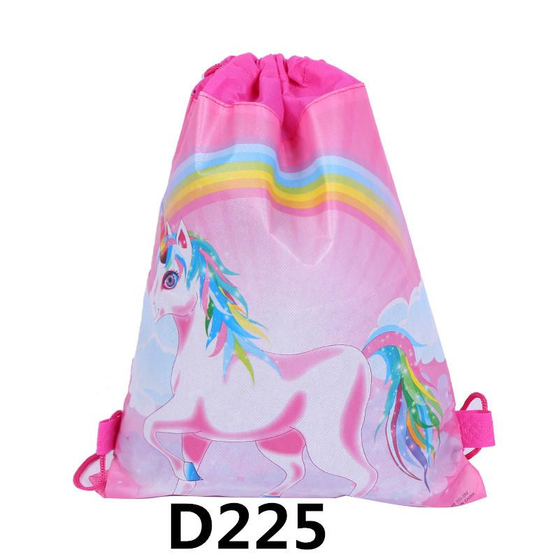 Cartoon Printing Drawstring Bags Party Favor For Kids With Unicorn Elena  Design Backpack Shoulder Bags For Children Birthday Pouch Gift Boys One  Strap