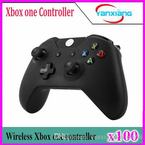 100pcs XBox One Wireless Controller for XBox One Elite Gamepad Joystick Joypad PC Receiver XBox One for Microsoft free shipping YX-one-01