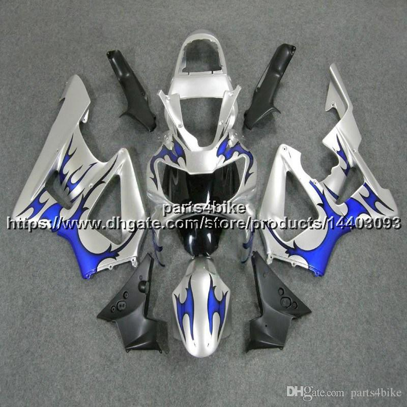 23colors+5Gifts Injection mold ABS blue silver Fairing For Honda CBR929RR 2000-2001 CBR929 RR 00 01 CBR 929 RR bodywork motorcycle hull