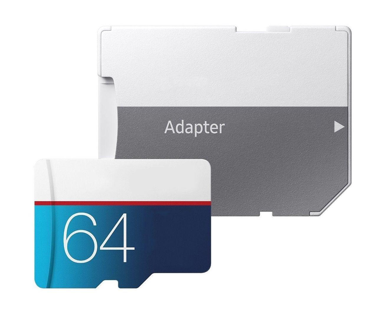 PRO 선택 UHS-I 128GB 64GB 32GB 16GB 클래스 10 U3 메모리 TF 카드 어댑터가 빠른 속도로