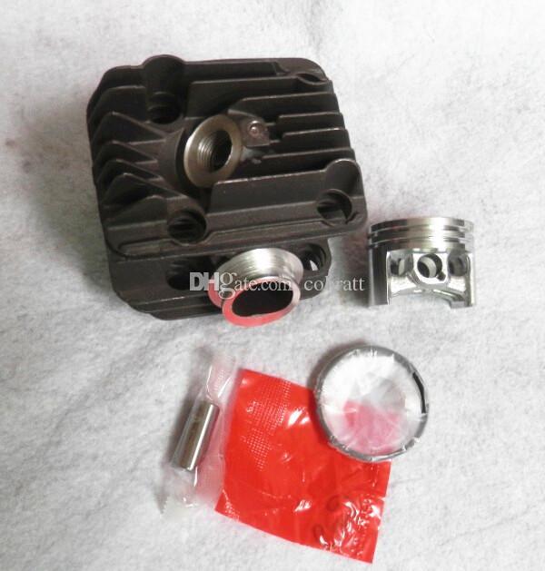 Silindir kiti krom kaplama Stihl testere için 40mm MS200 020 MS200T Zincir testere Silindir bock w / piston segman klip pin meclisi