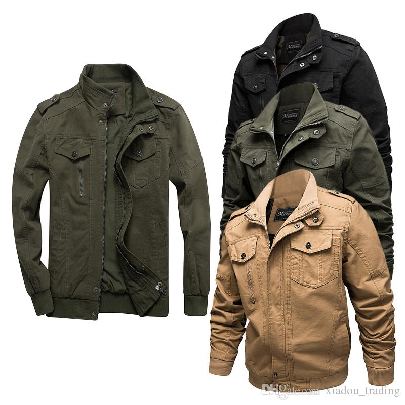 Men Tactical Flight From Plus Autumn Force Air Pilot Jackets Army Size Winter Coat Jacket M 2019 Male Cotton Bomber Jaqueta 6xl Cargo Casual sxthQrCBdo