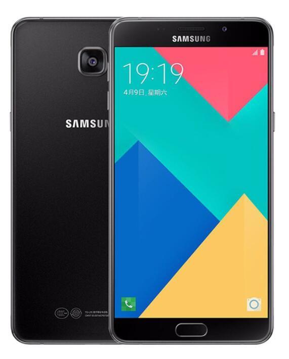 الأصلي Samsung Galaxy A9 برو A9100 Octa Core 4GB / 32GB 6.0 بوصة 16.0MP المزدوج SIM 4G LTE الهواتف المجددة