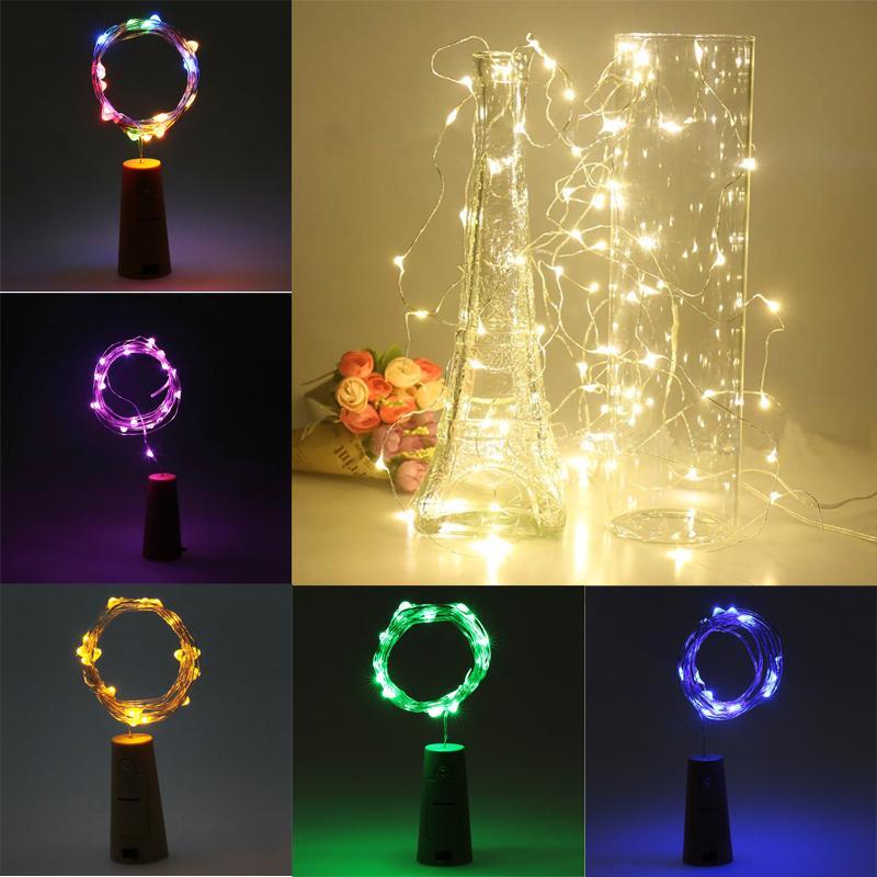 2 M / 5 M LED gece lambası Su Geçirmez Pil Kumandalı USB LED ışık Dize Peri Işık Şerit Lambası Noel ev Partisi feneri