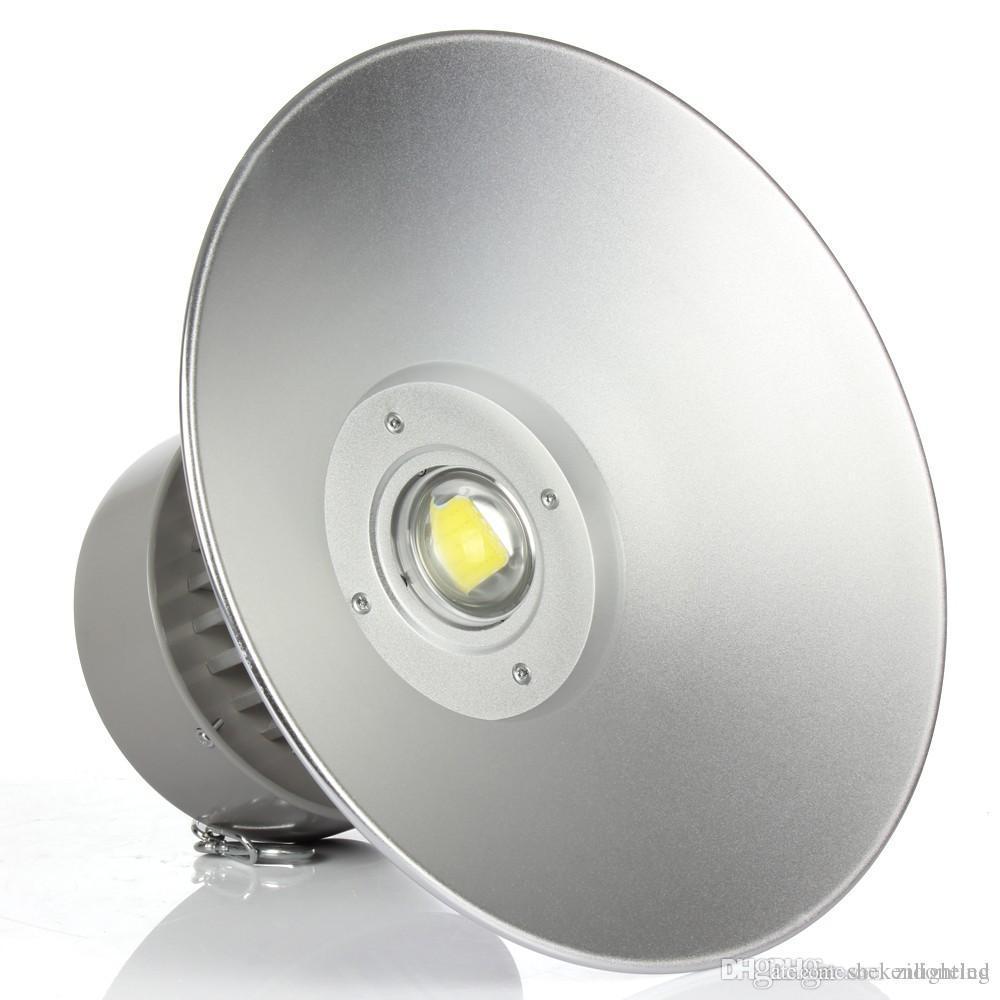 LED High Bay Light 50W/80W/100W/150W/200W Industrial Lamp gas station canopy lights Warranty 3 Years AC85-265V CE RoHS