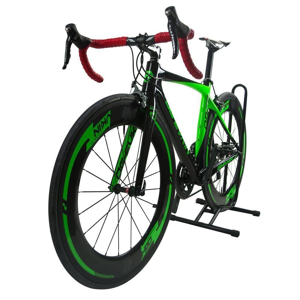 venta al por mayor 2018 22 velocidades Super Light Aero Carbon bicicleta carretera completa bicicleta V freno bicicleta ciclismo R36 49/52/54 / 56cm