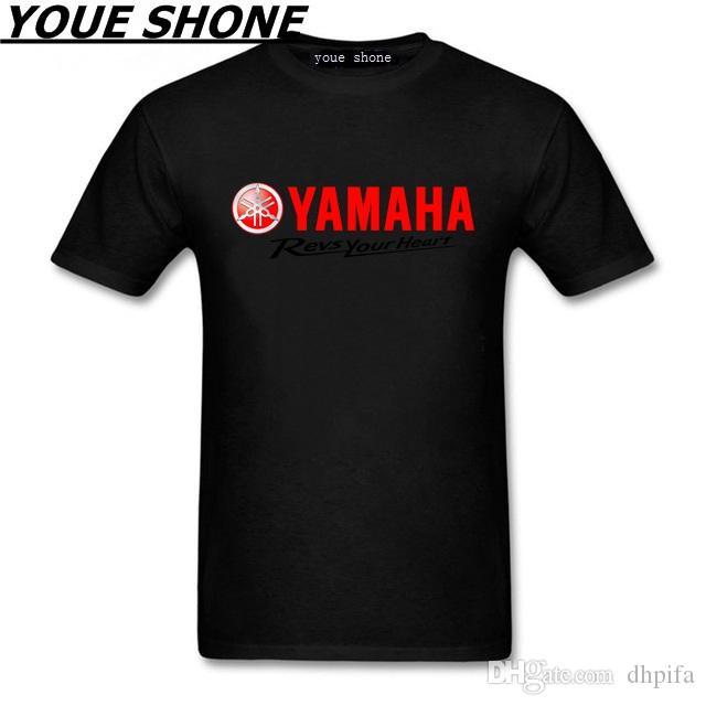 Maglietta da uomo manica corta 100% cotone t-shirt da moto maglietta YAMAHA marca estate nuova maglietta YAMAHA MT 09 Tees