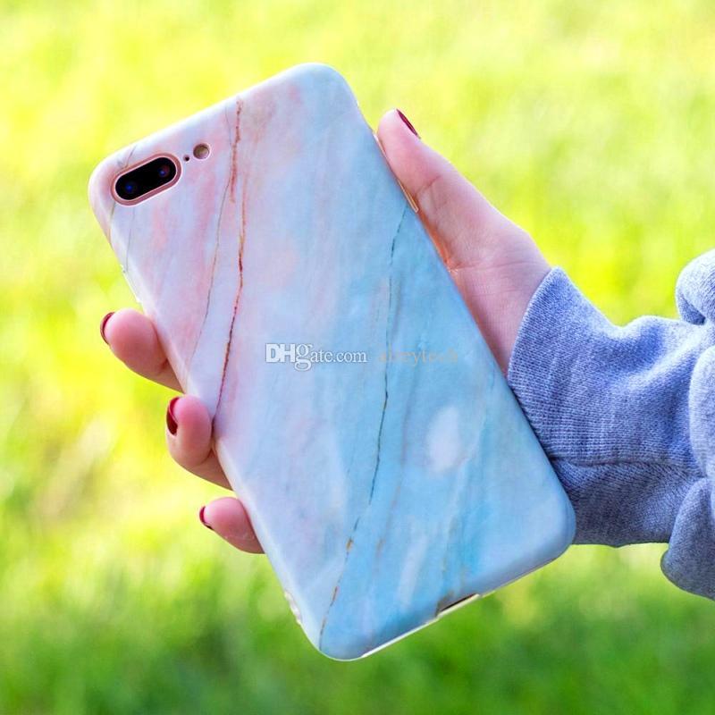 Fabrik-Großhandel Thick TPU Abdeckung weiche Stein-Kasten-Telefon Marble Kästen für iPhone XS Max XR X 6 6S 7 8 Plus