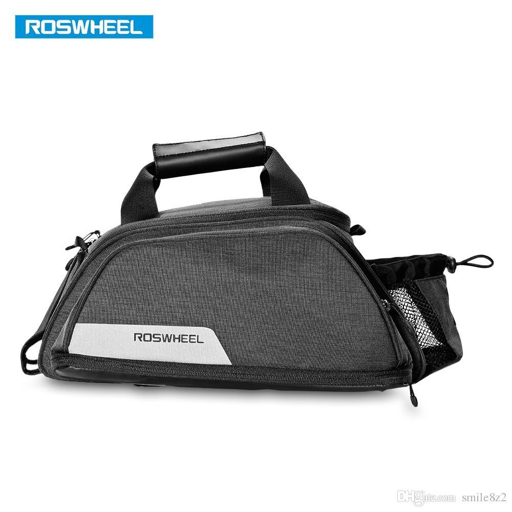 ROSWHEEL Multifunctional Bicycle Pannier Bag Trunk Pack Mountain Road Bike Bicycle Cycling Rear Seat Rack Trunk Bag Carrier Shoulder Bag VB