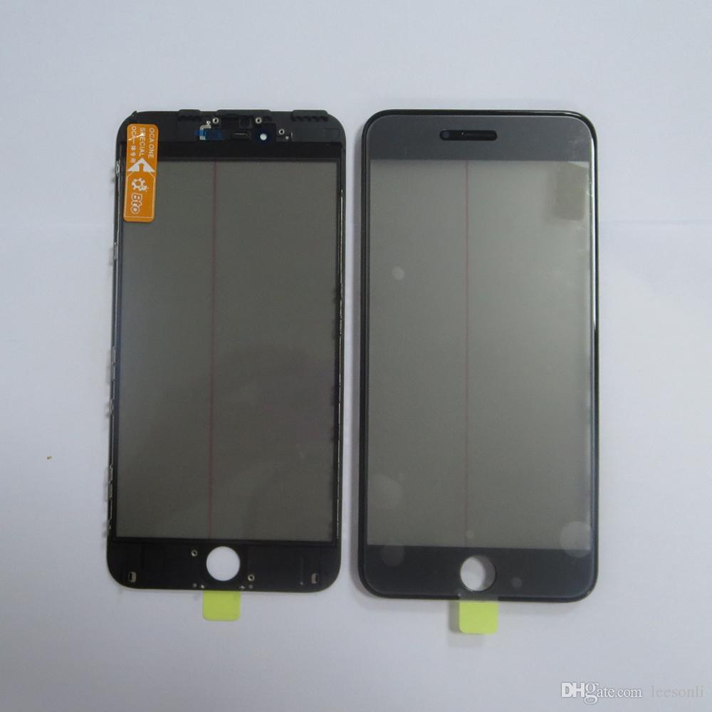 Оригинальный сенсорный ЖК-экран стеклянный объектив с рамкой рамки ОСА ЖК-поляризационная пленка для iphone 6 плюс
