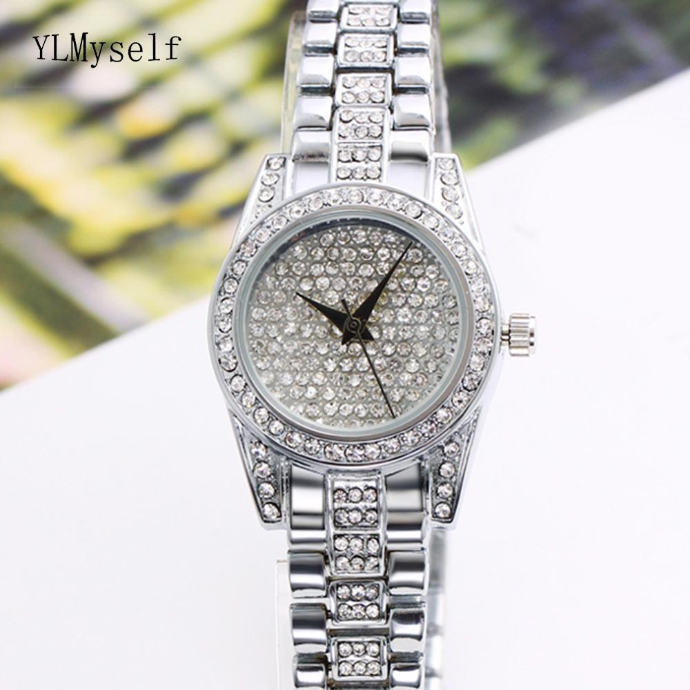 Full crystal ladies stone band watches high quality fast shipping nice elegant fashion quartz 2018 women watches