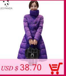 b29dbf10364 2018 Ultra Light Down Jacket Women Long Puffer Coat Plus Size Winter Duck  Brand Stand Collar