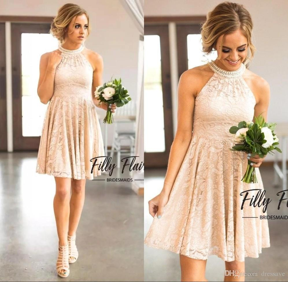 Champagne Country Dress