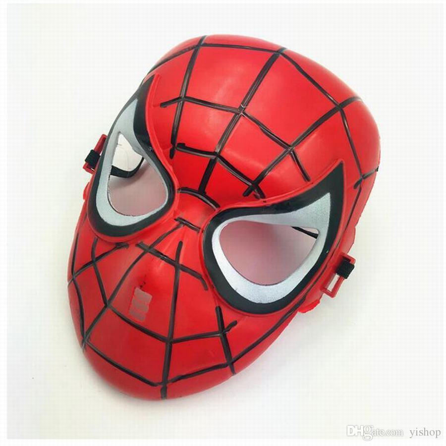 New Marvel The Avengers Spider Man Masks Helloween Cosplay Masquerade Masks Party Mask Toys Justice League Birthday Favors Toys Xmas Gift