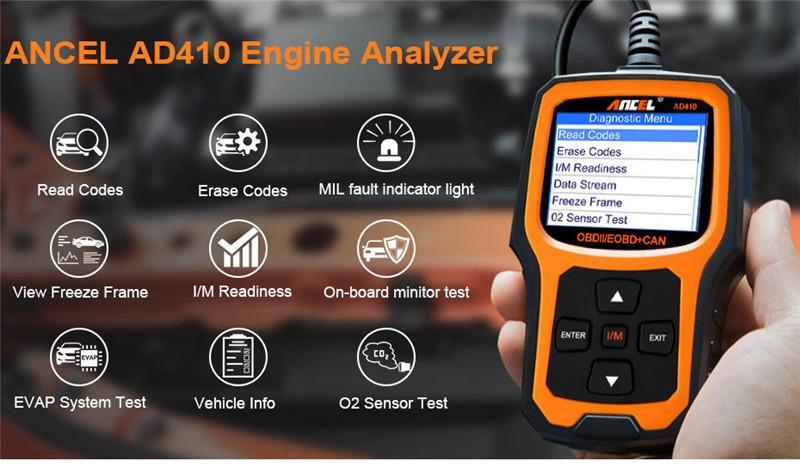 OBD2 OBD Automotive Scanner Ancel AD410 obd ii_01