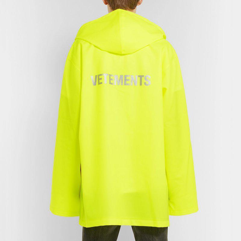 Hip Hop Hooded Raincoat Jacket Luxury Waterproof Fashion Street Casual Rainwear Coat Men Women Sport Outwear Jacket HFYMJK049