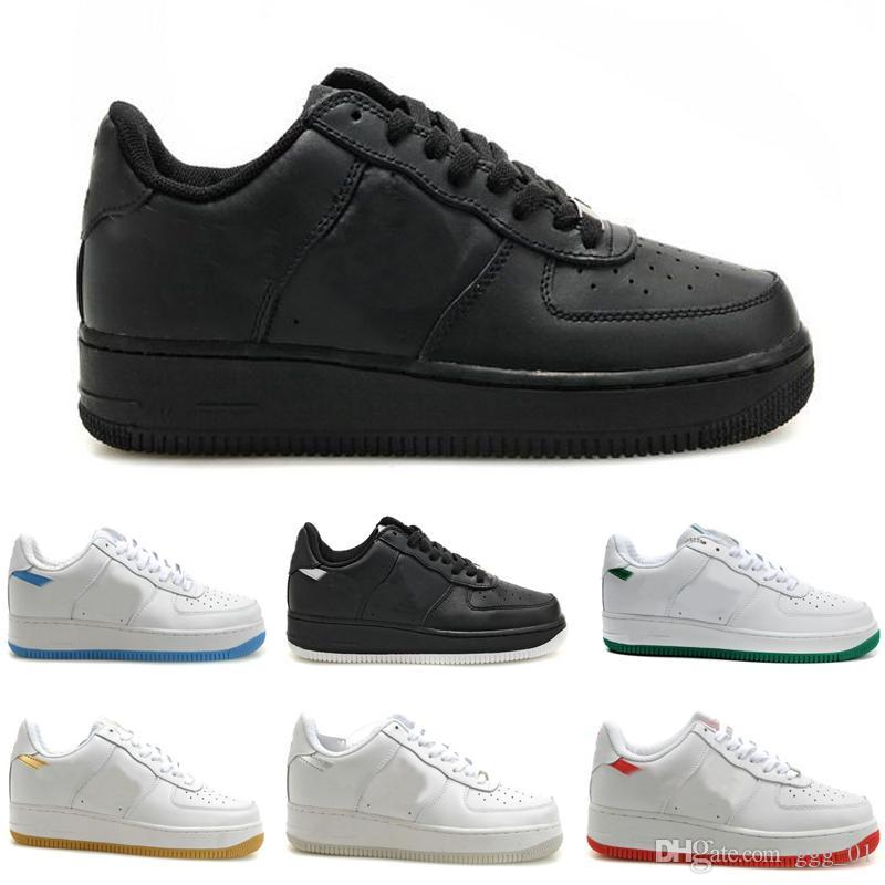 2019 CUT LOW All black,All White Training Shoes Men's & Women's Lover Sport Skate Sneaker Training Shoes