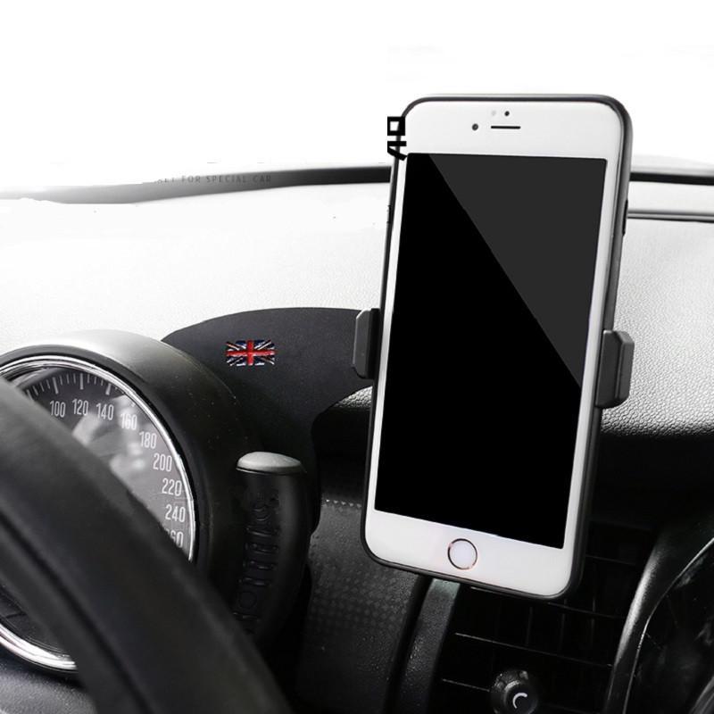 360 ° de rotación coche la horquilla del montaje de teléfono moible Soporte Soporte Para Mini Cooper R55 R56