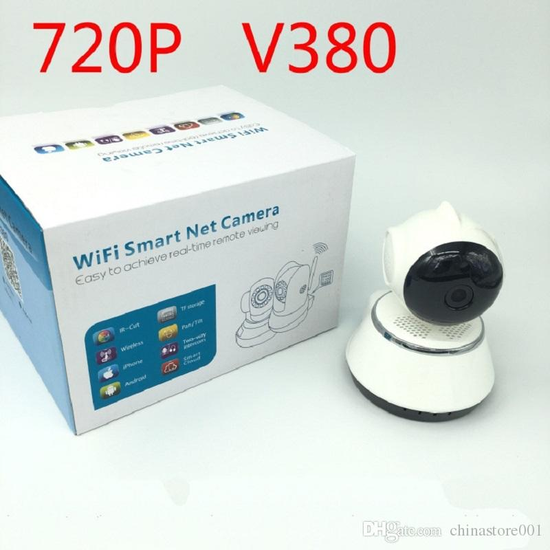 V380 HD 720P CCTV Camera WiFi Wireless Smart Security IP Cameras Micro SD Network Rotatable Defender Home Telecam HD Home Monitor