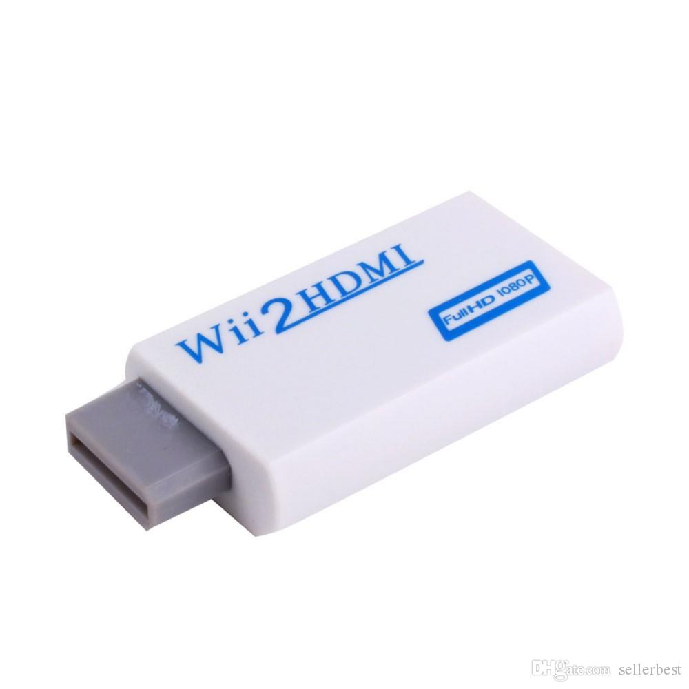 VBESTLIFE Конвертер Wii в HDMI 1080P Адаптер Wii2HDMI Разъем 3,5 мм Аудио-видео выход Full HD 1080P для HDTV