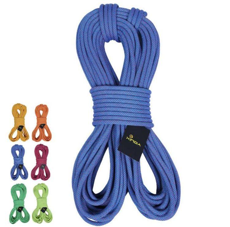 Xinda 8 / 10.5 / 12mm escalada ao ar livre montanhismo segurança life-saving cordas Curto distância downhill escape corda de nylon sobrevivência