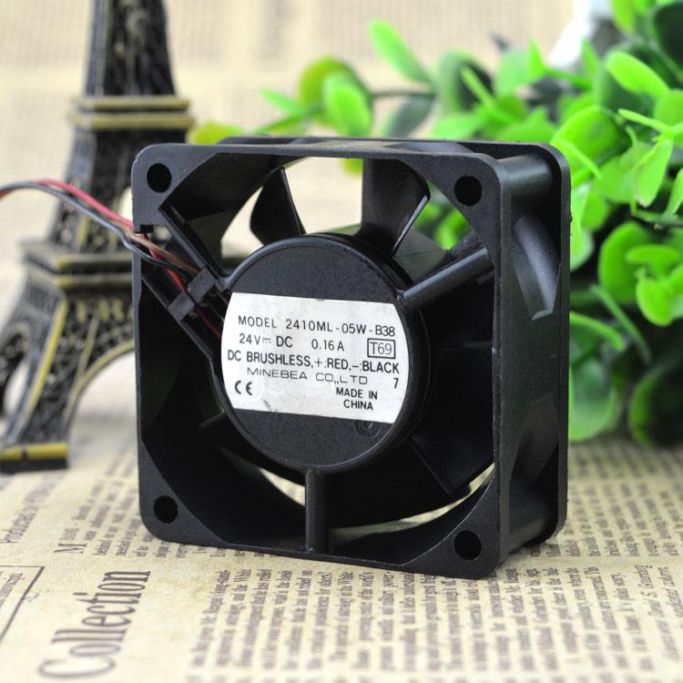 Для Подлинного NMB 2410ML-05W-B38 24 В 0.16A 0.11A 6 СМ 6025 Вентилятор Инвертора