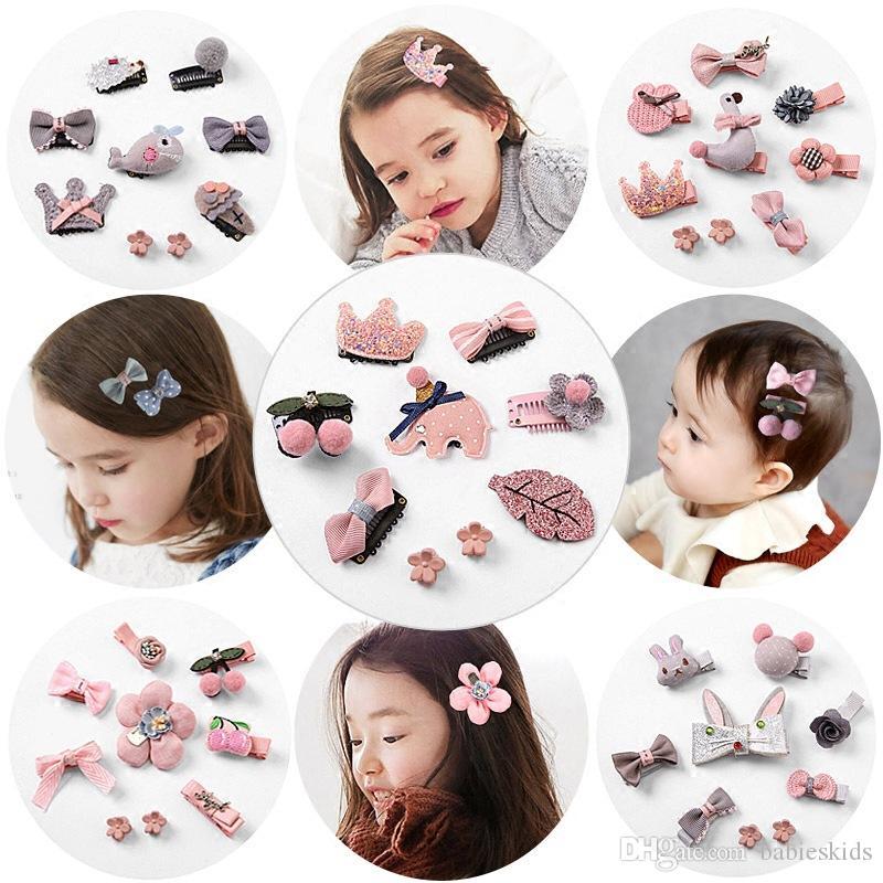 Güzel Moda Stil Bebek kız saç tokası ilmek saç dekorasyon saç bandı Güzel Melek Şapkalar Hairband Saç Aksesuarları Saç Klip