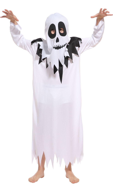 Of Halloween Kids Ghost Set Devil 2018 4 Costumes Story Shanghai People Vampire Clothing Robes For Hood Full Costume Horror Carnival Cosplay White 2EIDH9W