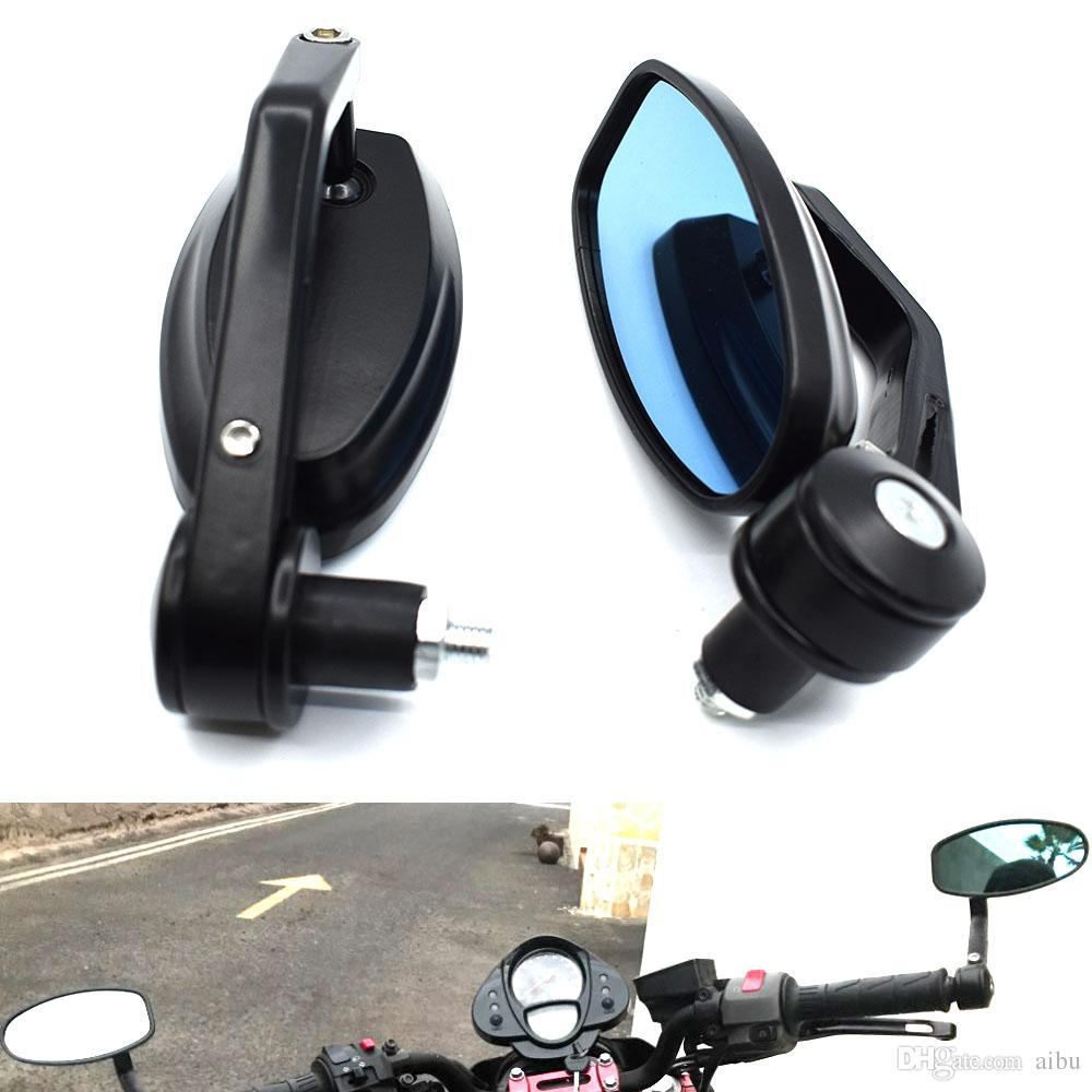 유니버셜 22mm 오토바이 핸들 바 후면 미러 장착 어댑터 홀더 클램프 스크류 홀 모토 거리 자전거 용 스쿠터
