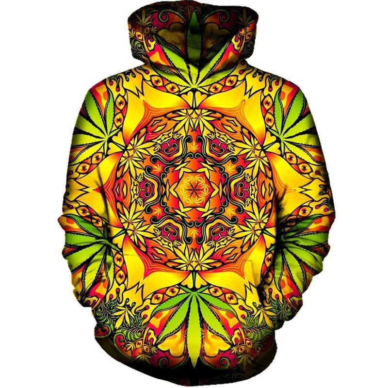 New Arrrval Fashion Men/Women Psychedelic Funny 3D Printed Crewneck Sweatshirt Hoodies Fashion Casual Hoodies H200