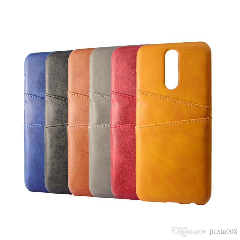 Coque de cuero de la PU para Huawei Mate 10 Lite Funda de lujo de la contraportada Tarjetas de teléfono móvil para Huawei Mate 10 Lite