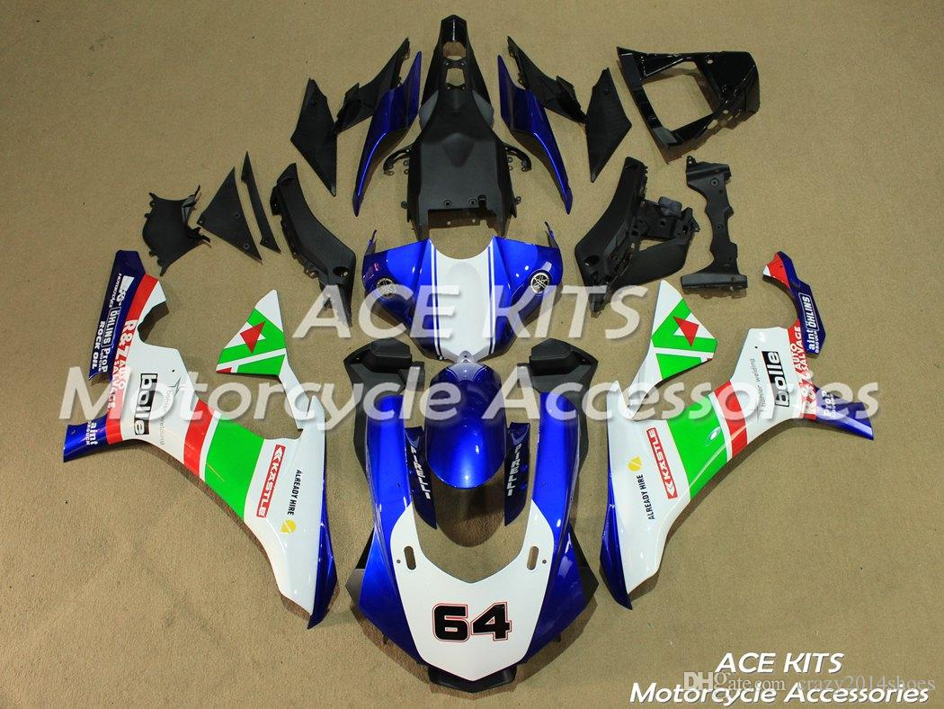 3 Free Gifts New motorcycle Fairings Kits For YAMAHA YZF-R1 2015-2016 R1 15-16 YZF1000 bodywork hot sales loves Red B80 NO.335