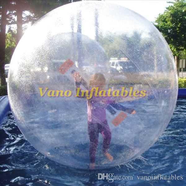 Waterballs pvc التجاري الحجم الهامستر الكرة zorbing مشوا المياه نفخ ألمانيا tizip سحاب 1.5 متر 2 متر 2.5 متر 3 متر شحن مجاني