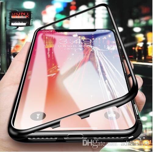 Housse Adsorption Magnétique Pour Samsung Galaxy S8 S9 Plus Note 8 S7 S7 Bord Verre Trempé Couverture Arrière Proposé Par Adtismark, 5,46 € | ...