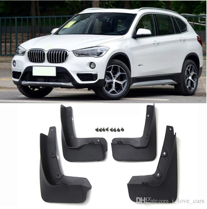 FIT FOR BMW X1 F48 2016 2017 MOLDED MUDFLAPS MUD FLAP MUD FLAPS SPLASH GUARD MUDGUARDS FENDER KIT ACCESSORIES high quality
