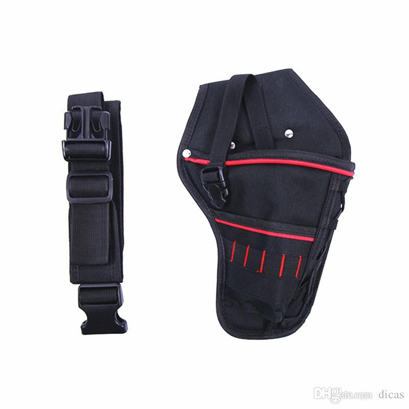 oxford chiffon sac à outils perceuse sans fil toile outil multifonction sac électricien kit de réparation kit clé électrique poche