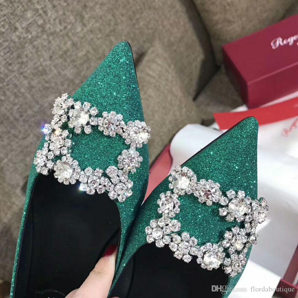 2018 Luxurious Brand Famous Designer Beading Sequins Genuine Leather ...