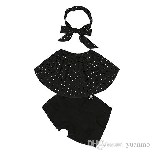 Girls Clothing Sets New 2018 Summer Girls Clothes Flower Kids Tops + Fashion Casual shorts Suits girls Clothes for 1-6y